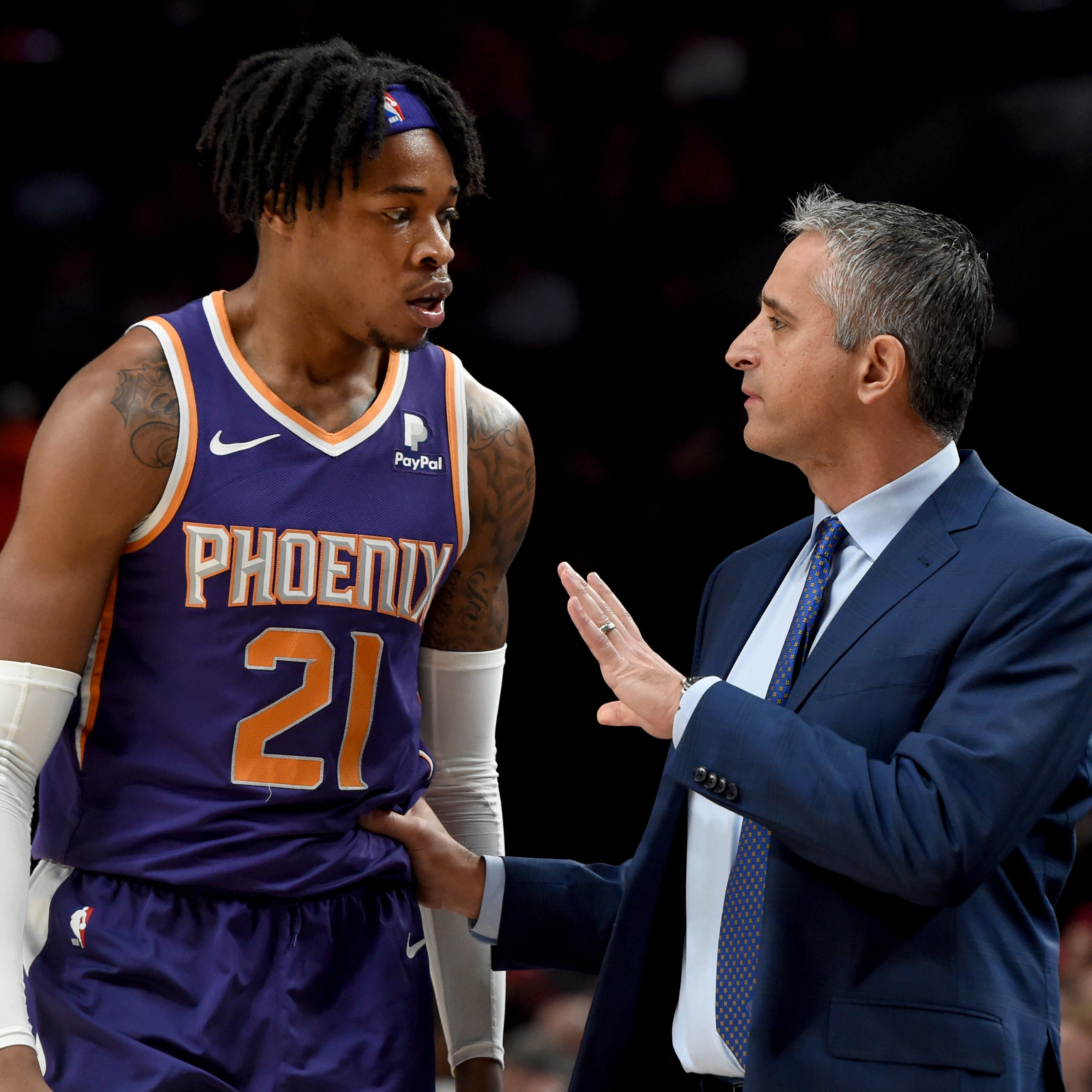 'Come on man': Charles Barkley bashes Phoenix Suns for having seven points in 1st quarter vs. Trail Blazers