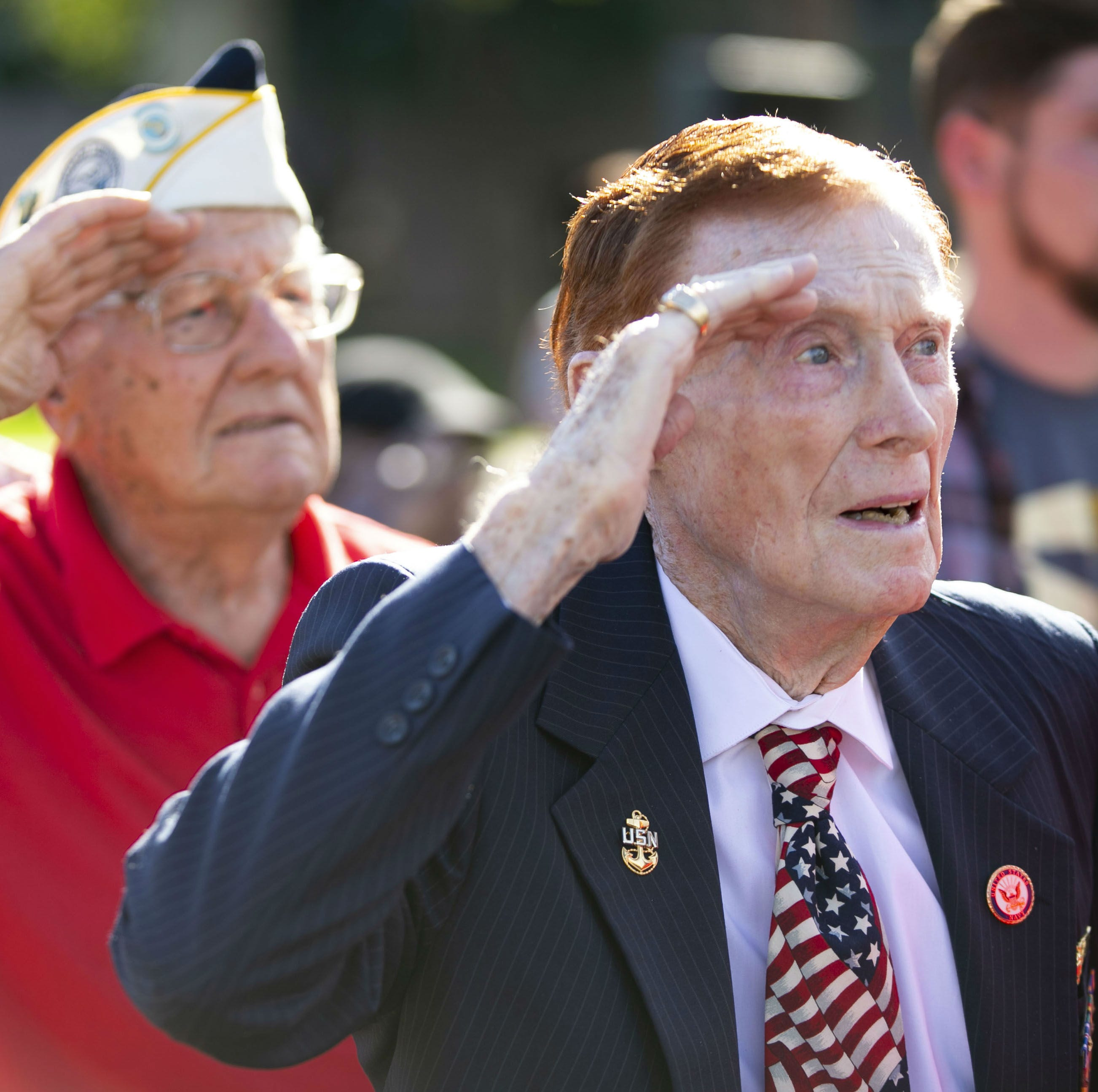 Arizona veterans gather to observe 77th anniversary of the attack on Pearl Harbor