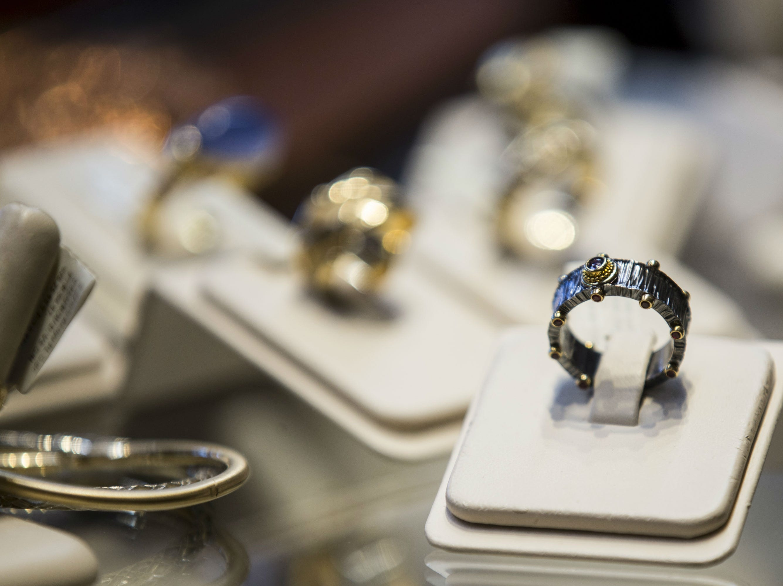 French Designer Jeweler in Scottsdale features custom jewelry and art from artists around the world.