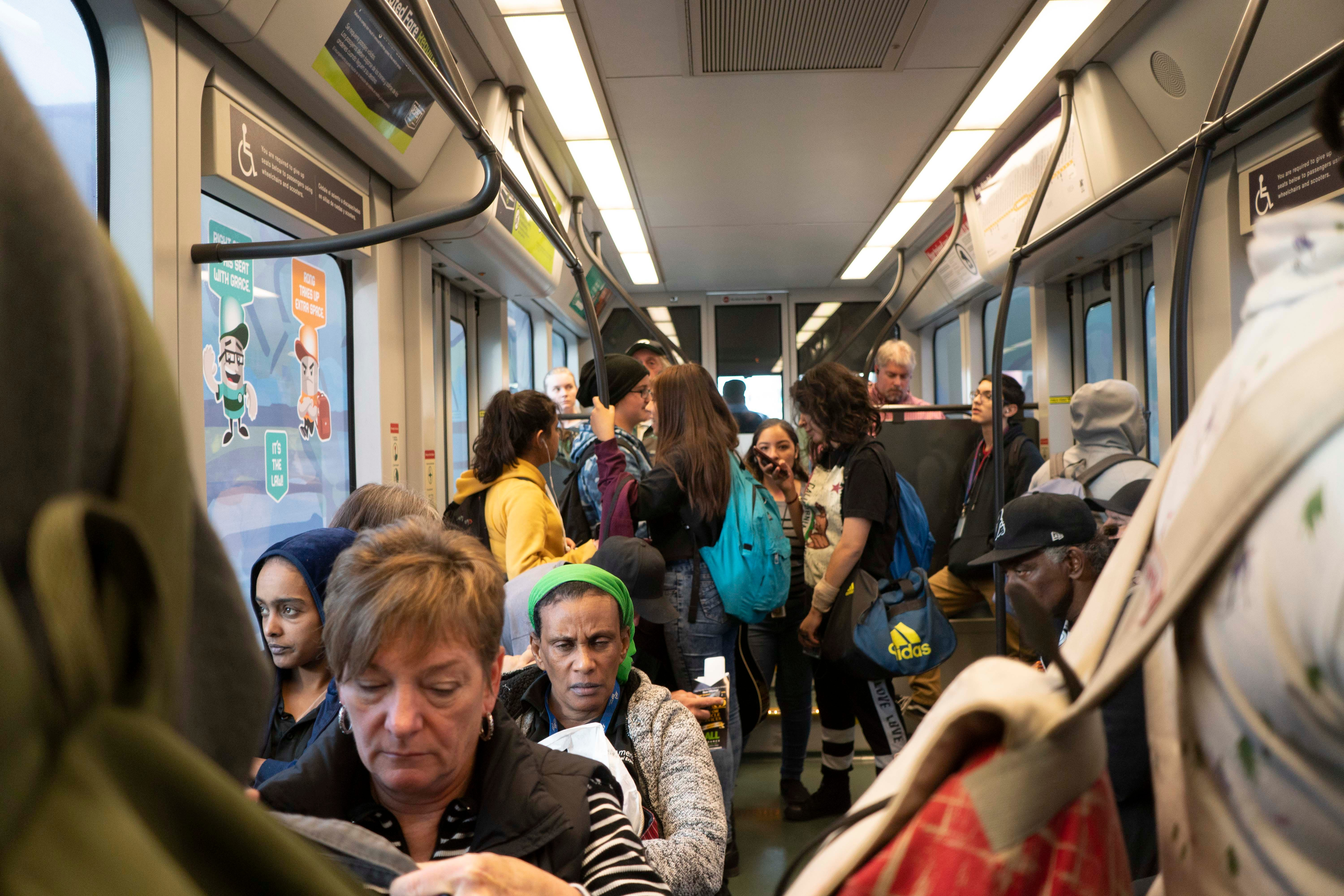 The Valley Metro rail system has anaverage weekday ridership of about50,000, a number Valley Metro didn't expect to reach until 2020. But in the past year, light-rail ridership slipped by about 725,000 riders.