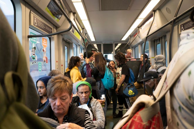 The Valley Metro rail system has an average weekday ridership of about 50,000, a number Valley Metro didn't expect to reach until 2020. But in the past year, light-rail ridership slipped by about 725,000 riders.