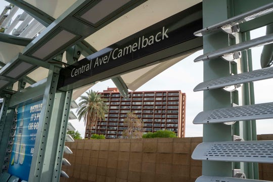 The intersection of Central Avenue and Camelback Road in uptown Phoenix, a light-rail hot spot, was voted the most popular by real-estate and planning experts last year in an Urban Land Arizona competition.