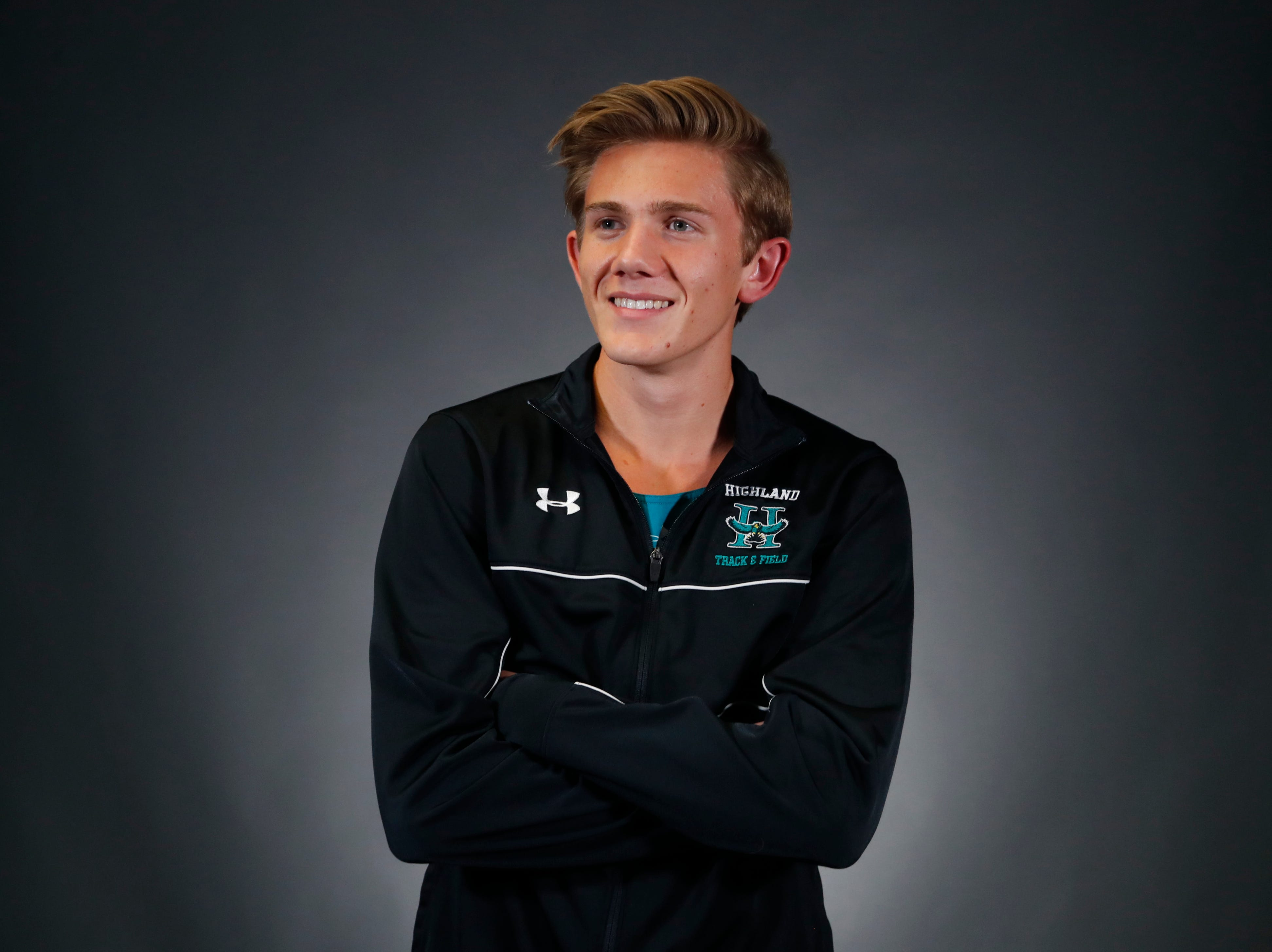 Leo Daschbach from Gilbert Highland is a nominee for azcentral Sports Awards High School Boys Cross Country Runner of the Year. #azcsportsawards