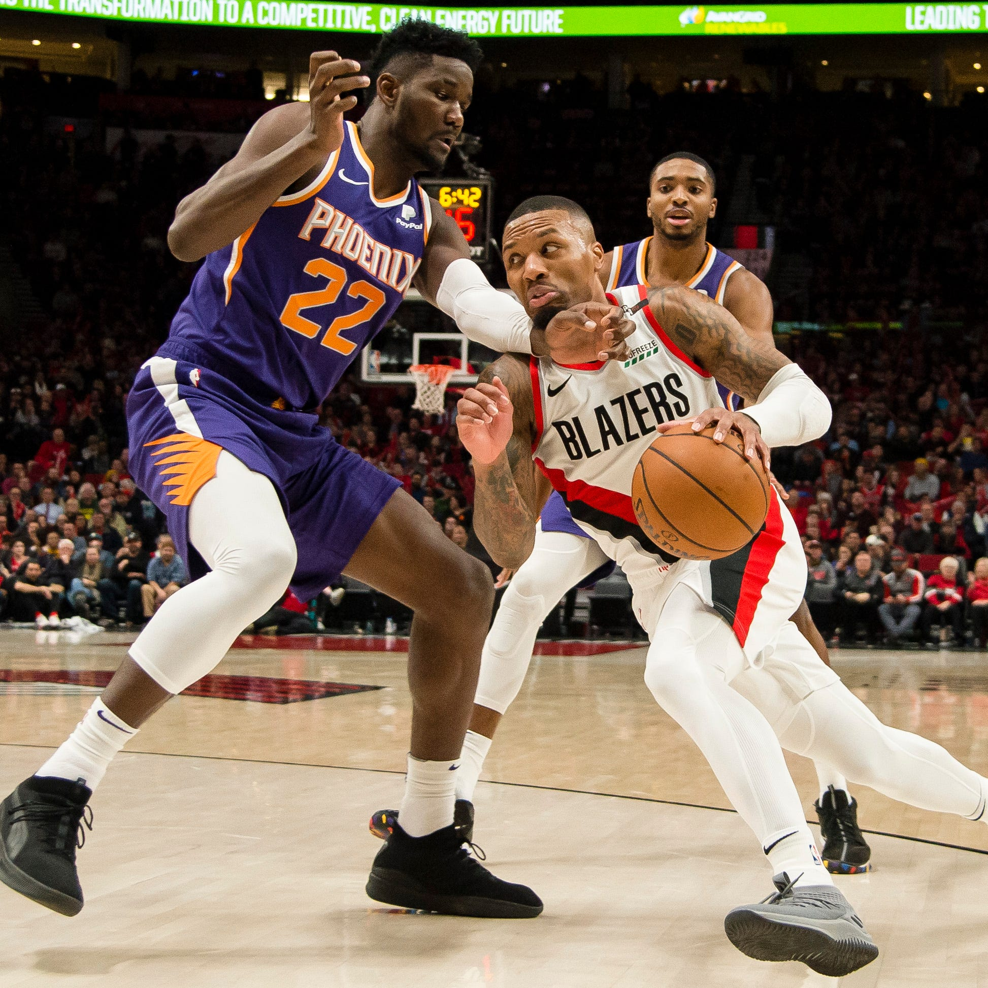 Frustrations boil over after Suns blow it in first quarter again, this time to Trail Blazers