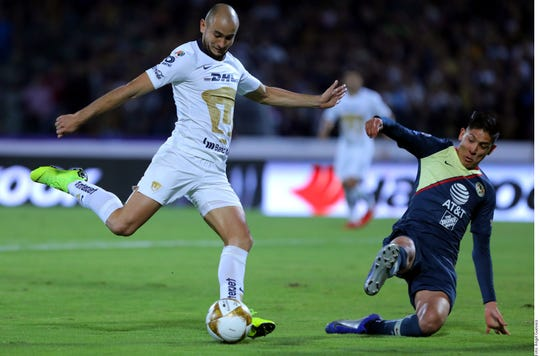 Pumas y América empataron 1-1 en la semifinal de ida del Apertura 2018.