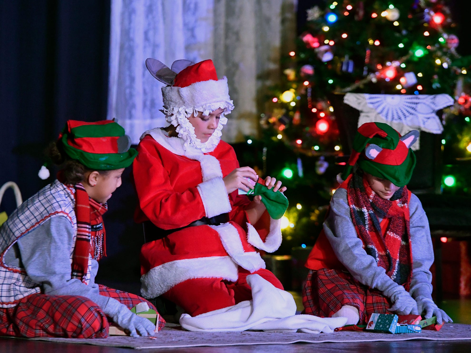 """Theater Arts for Everyone is performing """"The Night Before Christmas"""" this weekend at The York Learning Center. Show times are Dec. 7 & 8 at 7 p.m. and Dec 8 & 9 at 3 p.m.  Tickets are available at the door or through Eventbrite. Thursday, December 6, 2018.  John A. Pavoncello photo"""