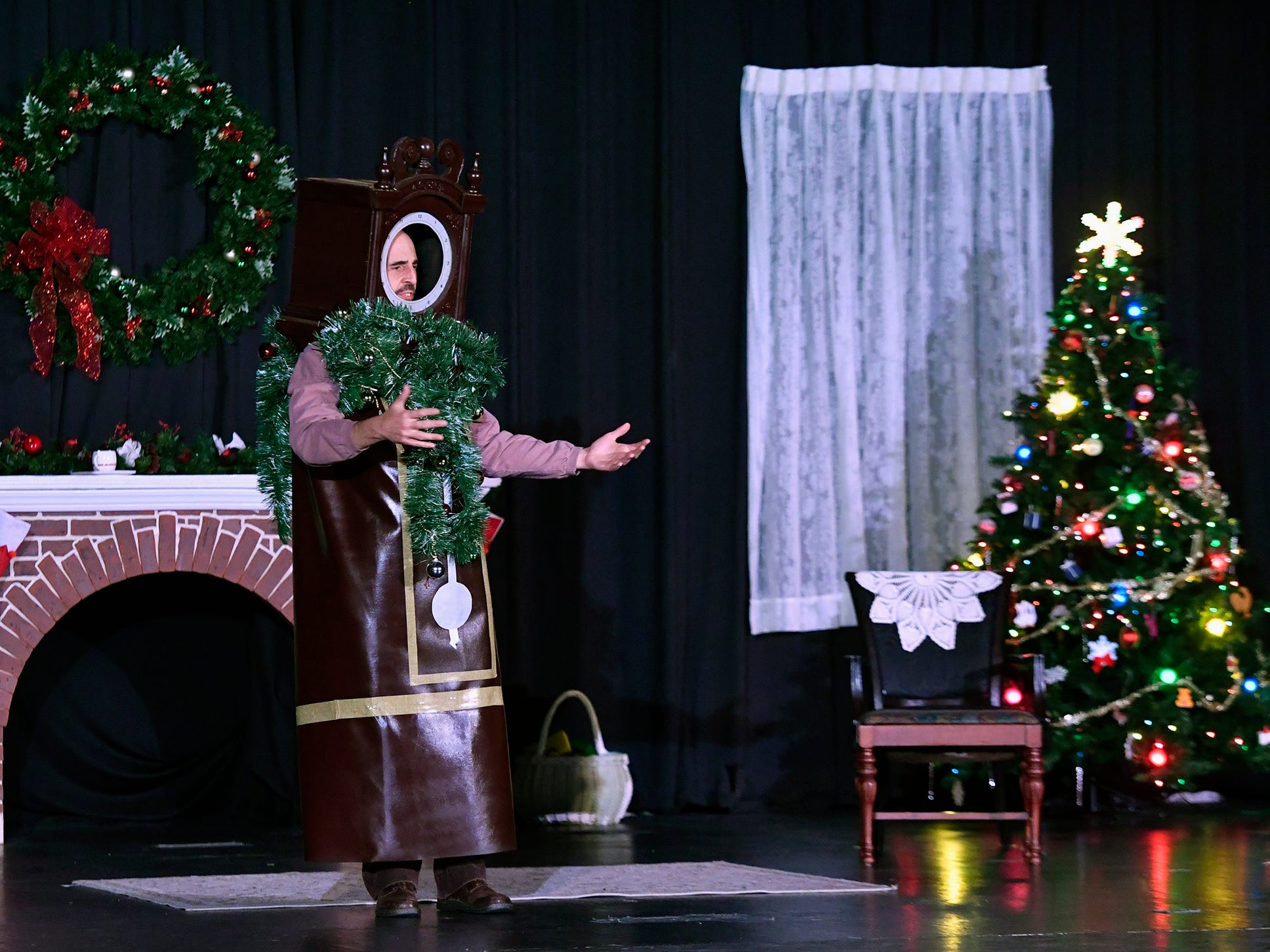 """Theater Arts for Everyone is performing """"The Night Before Christmas"""" this weekend at The York Learning Center. Show times are Dec. 7 and 8 at 7 p.m. and Dec 8 and 9 at 3 p.m.  Tickets are available at the door or through Eventbrite. Thursday, December 6, 2018.  John A. Pavoncello photo"""