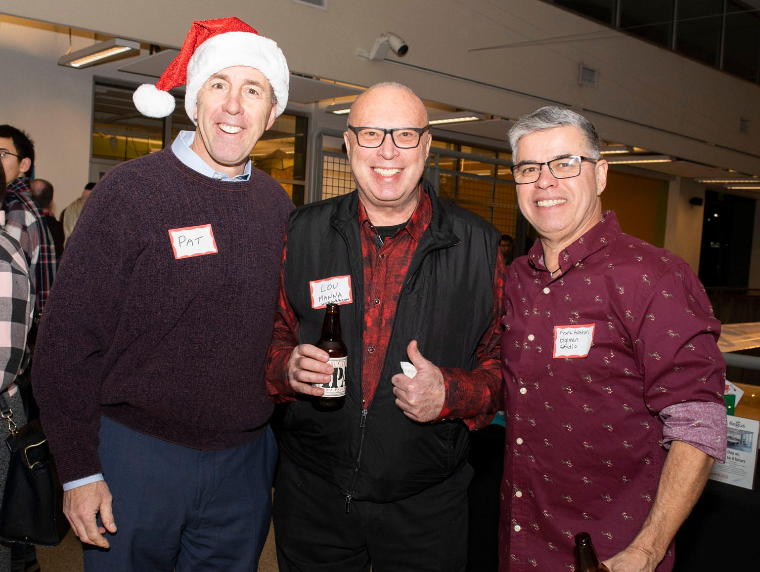 Guests attend Mingle Bells 2018 at the Discovery Museum on Thursday, Dec. 6, 2018. Reno, Nev.