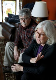 Kathleen O'Brien and her husband, Graham Thompson, mix gallows humor into their realistic view of what their life is like. O'Brien has a form of dementia, and Thompson sustained a traumatic brain injury more than 10 years ago.