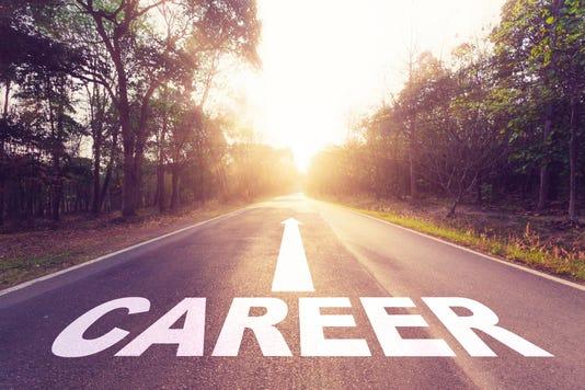 Empty Asphalt Road And Career Concept