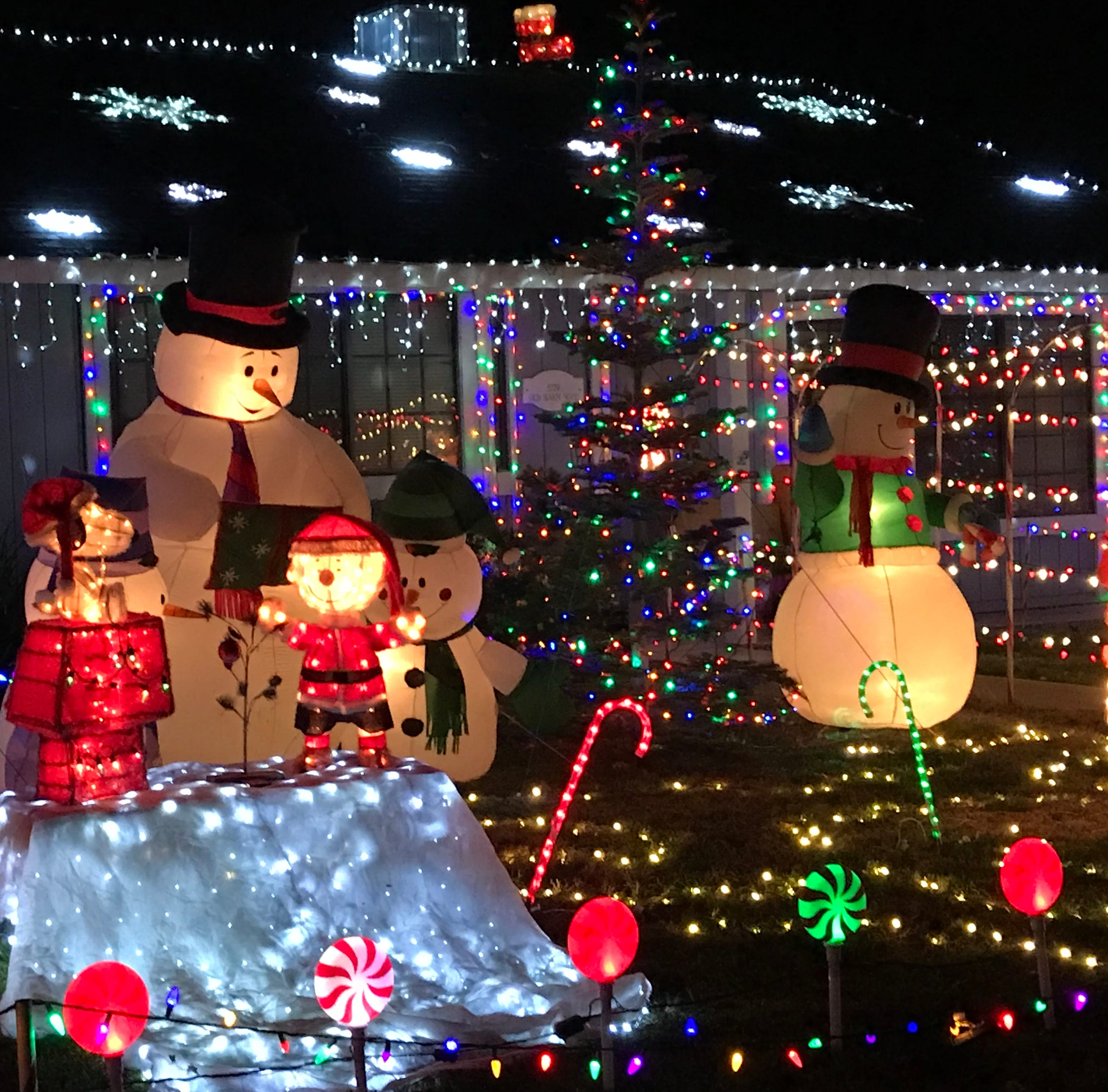 Watch: Let there be Christmas lights! 11 of the best displays in the Redding area