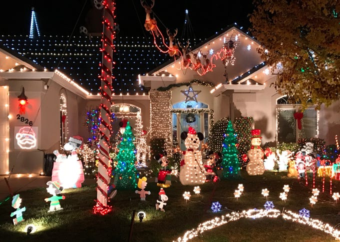 Redding Christmas lights: 11 amazing displays you can see now