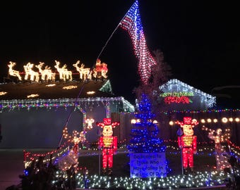 See highlights from this year's Christmas light displays.