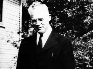Rev. Jabez C. Harrison was pastor of Salem First Methodist Church in 1941 and is believed to have been part of the group that stepped up to provide protection to the Japanese church at Lake Labish.