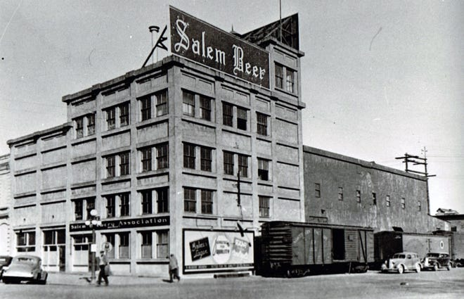 The Salem Brewery Association building, seen here in 1939, produced a loganberry drink called LoJu after Salem voters decided to make the Cherry City dry.