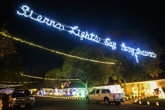 The residents of the Sierra Court cul-de-sac near Southland Boulevard put on a marvelous show uniting the whole neighborhood with lights and holiday cheer.