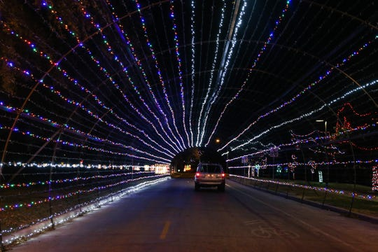 The Concho Christmas Celebration Tour of Lights has been a San Angelo tradition for 25 years and continues to grow. Don't make the rookie mistake of skipping the last leg of the tour, which includes cartoons and an Instagram worthy Americana display. Be sure to follow the signs all the way to the end near Fort Concho. The 2.5-mile tour begins at 598 W. 1st St. The hours are 6-10 p.m. Sunday-Thursday and 6 p.m.-midnight Friday-Saturday. For Christmas Eve and Christmas Day the hours will be 6-10 p.m. The tour is free, but a $5 per vehicle donation will help keep the tradition going.