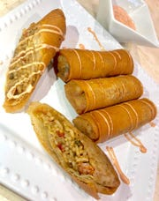 Jambalaya egg rolls at The Cajun Asian Restaurant on Airline Drive in Bossier City.