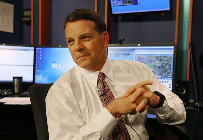 KYTV chief meteorologist Ron Hearst says he's been to all 42 counties in the station's coverage area. That's why he knows by memory so many streets and towns and hills and valleys.