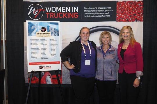Erin Turcotte, Bonnie Supan and Ellen Voie.