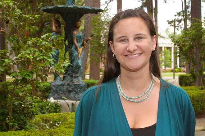 Elizabeth Swiman is the director for Campus Sustainability at Florida State.
