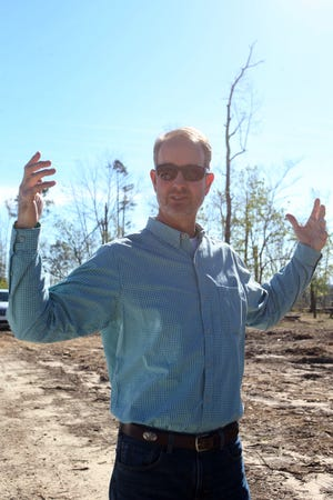 Wes Howell, bureau chief at Natural and Cultural Resources speaks about the devastation caused by Hurricane Michael. Torreya State Park reopened on Friday, Dec. 7, 2018, almost two months after Hurricane Michael hit the panhandle.