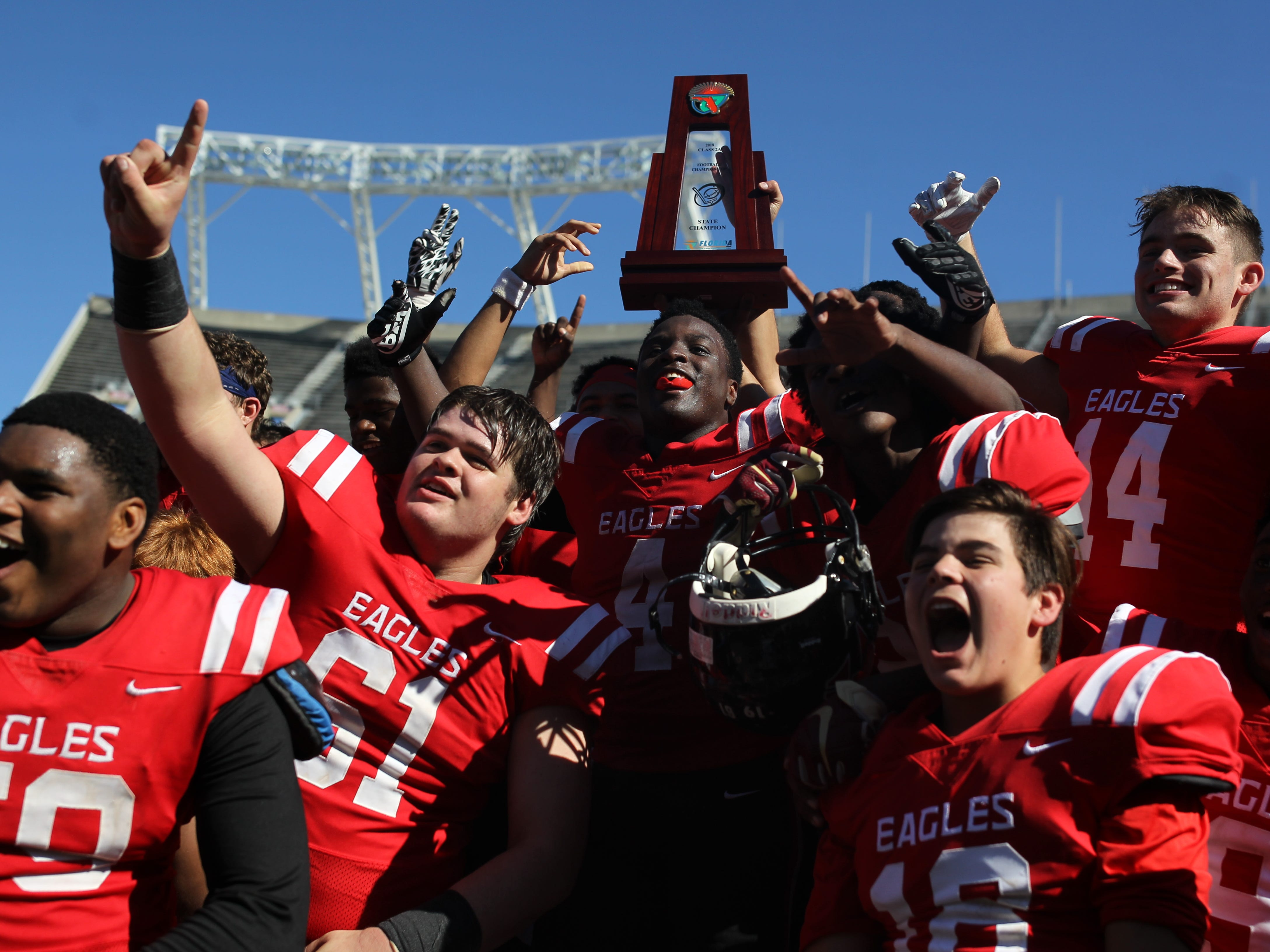 Eight is great! NFC captures another football state championship