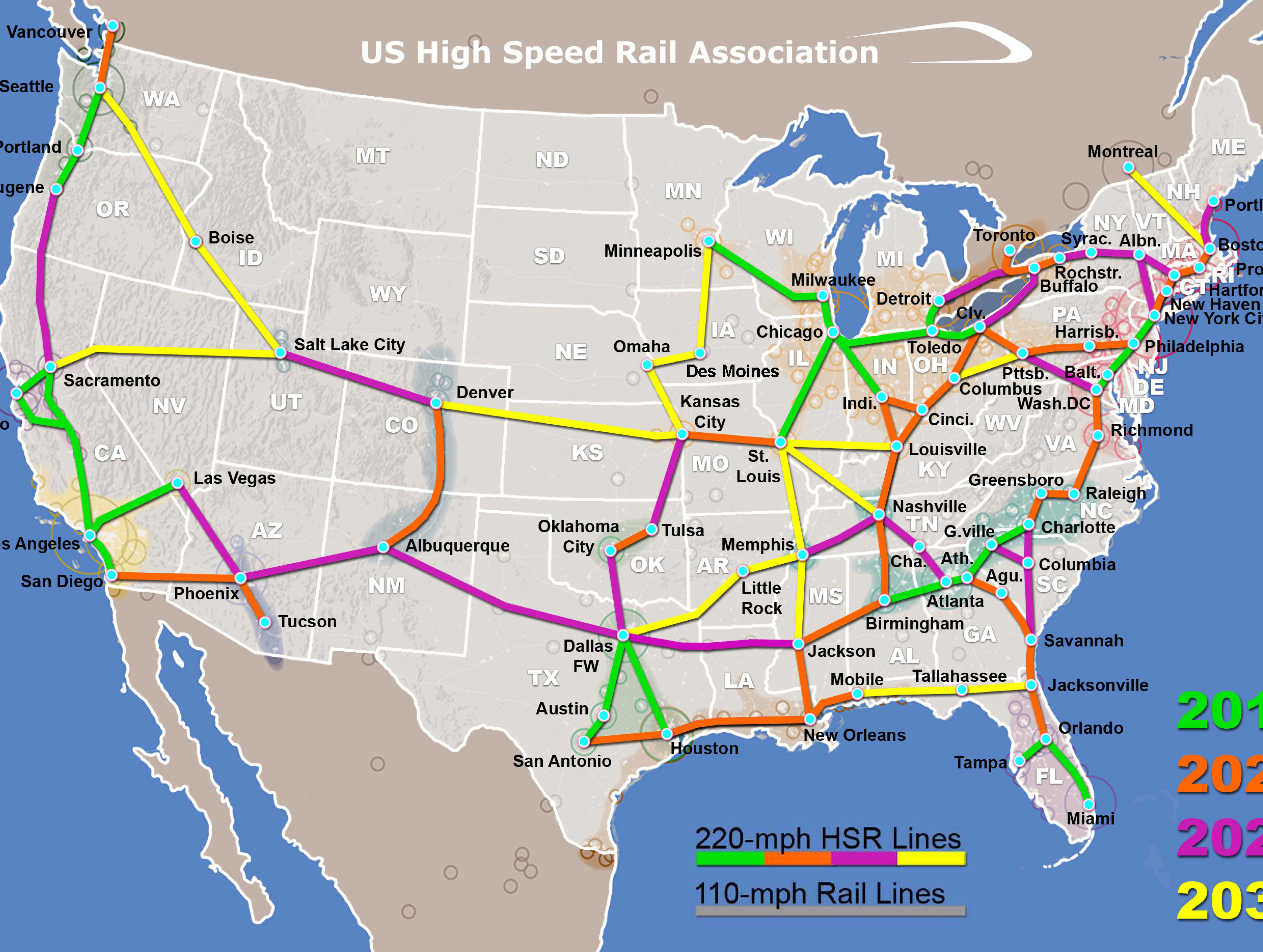Low prospects for high-speed rail in Tallahassee?