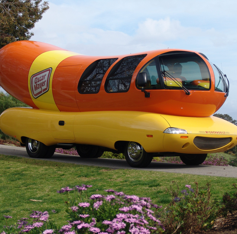 Quick, back to the Oscar Mayer Wienermobile, Robin |Mark Hinson