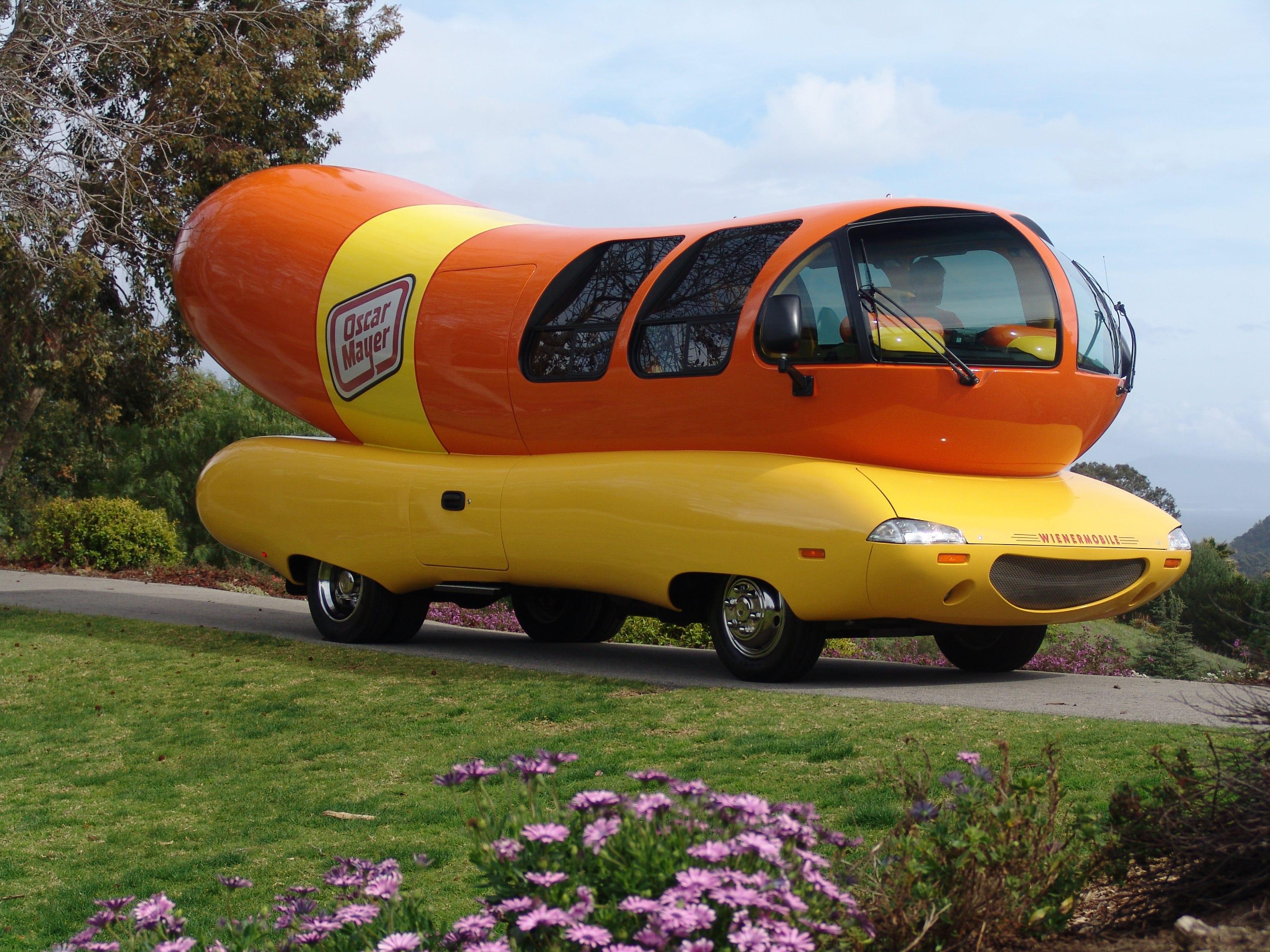 Quick, back to the Oscar Mayer Wienermobile, Robin   Mark Hinson