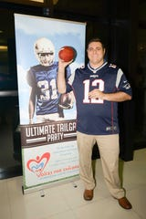 Paul Nigro, director of 19th Circuit Guardian Ad Litem program, is ready for the Ultimate Tailgate Party on Jan. 26 at Treasure Coast Lexus in Fort Pierce.