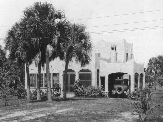 Alex MacWilliam was an early resident of Riomar, moving here to help oversee construction of the community. This photo of his home in Riomar was taken in 1924.  Credit: Pioneering Roots; By Lindsey Kingston, Staff writer