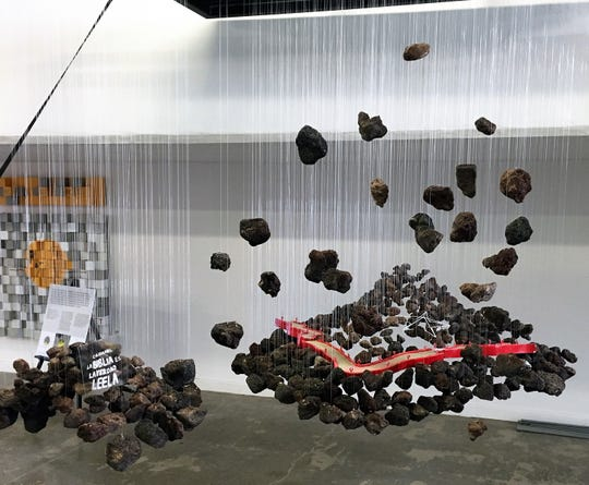 "Guadalupe Chao Zambrano's ""Cultural Symbiosis"" design piece won Sundt Construction's El Paso building design competition."