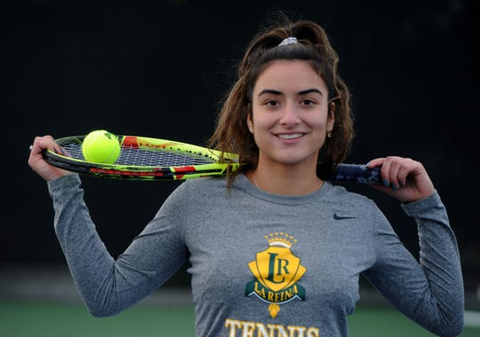 Tiara Nourishad reached the third round of the CIF Individuals in her senior season at La Reina.