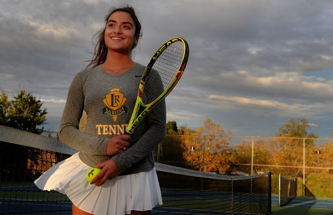 Tiara Nourishad finished her career at La Reina by going undefeated in the Tri-Valley League regular season and then winning each match at love in the league tournament.