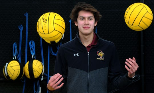 Oaks Christian's Adrian Weinberg proved he was one of the best high school goalies in the nation while helping lift Lions to an elite program in Southern California.