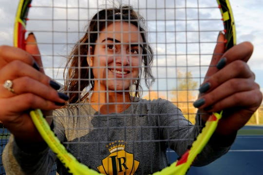 La Reina's Tiara Nourishad is being recruited by Stonehill, College of the Holy Cross, UC San Diego, UC Santa Cruz and Colorado College.