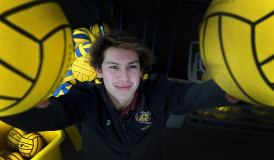 After a sensational four-year career at Oaks Christian, goalie Adrian Weinberg will play for the UC Berkeley men's water polo team next year while studying to become a doctor with an expertise in dermatology.