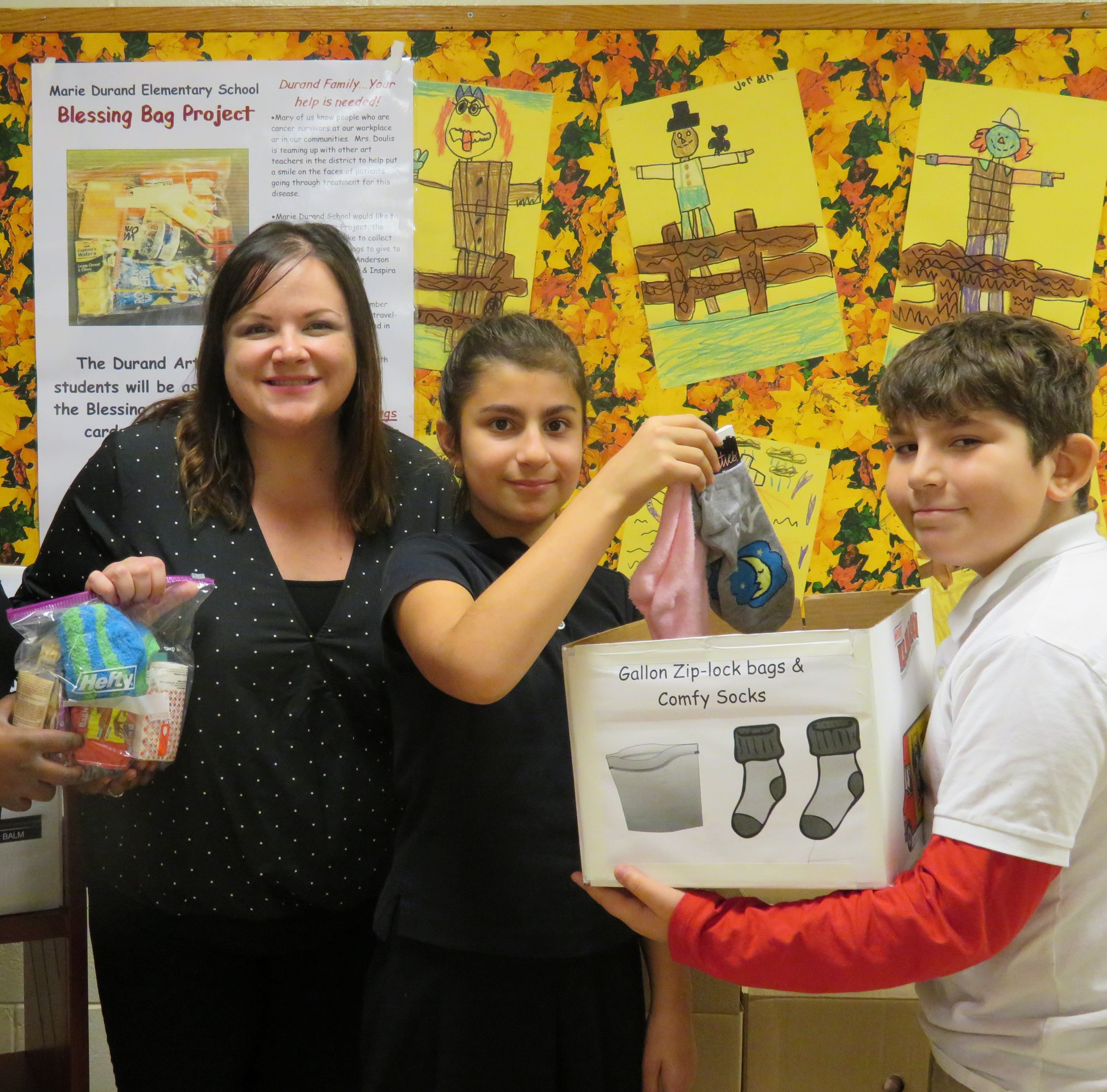 Vineland schools make Blessings Bags for cancer patients