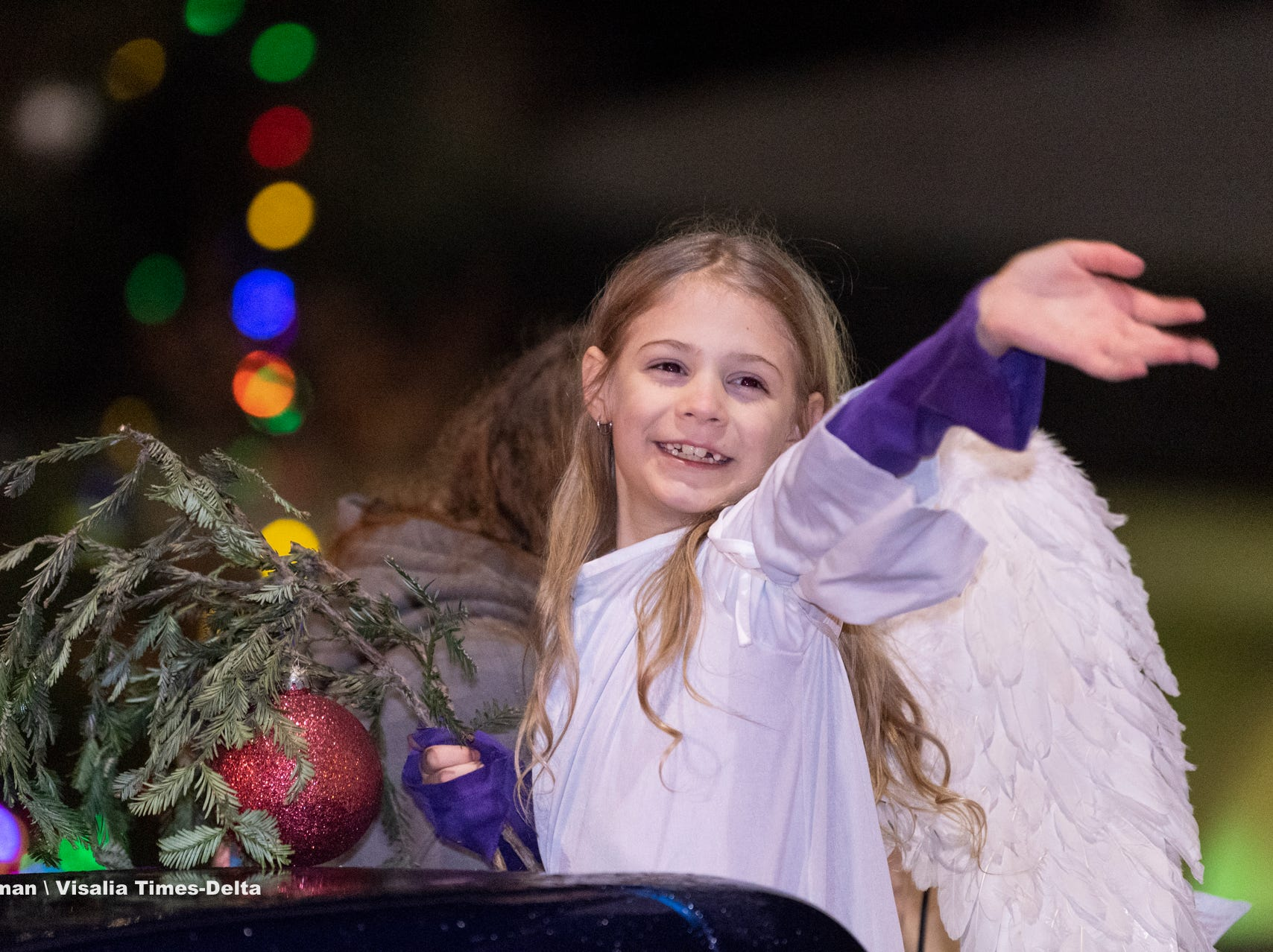 Tulare Children's Christmas Parade and Tree Lighting on Thursday, December 6, 2018.