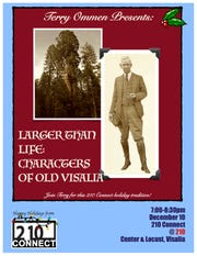 "210 Connect caps off its 10th anniversary year with Terry Ommen's ""Larger Than Life: Characters of Old Visalia"""