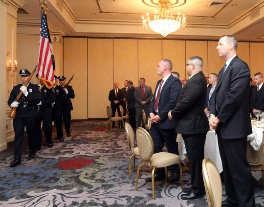 The Rockland County PBA Annual Awards Dinner at Pearl River Hilton on Dec. 6, 2018.