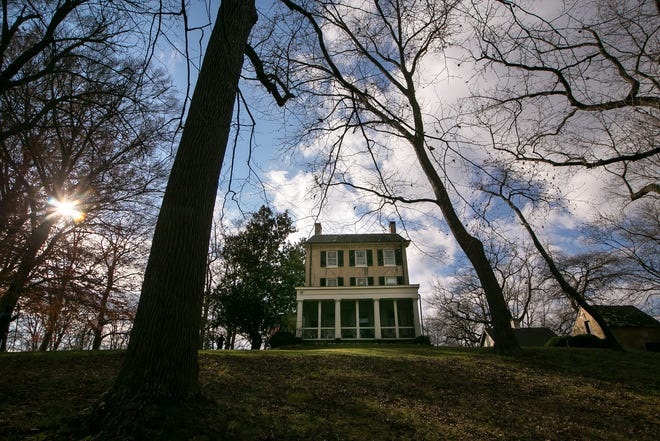 The home and surrounding property at the heart of Delaware's historic Cooch's Bridge battlefield.