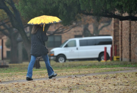 Students at MSU dealt with wet and cooler weather Friday afternoon while the National Weather service called for a chance for frozen precipitation over the weekend.