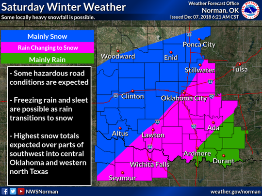 Winter Storm impacts will increase Saturday into Saturday night. Some hazardous travel conditions are expected.