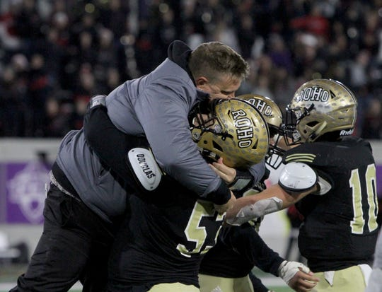Rider coach Marc Bindel is hoping to be picked up for a few more hugs after victories this season.