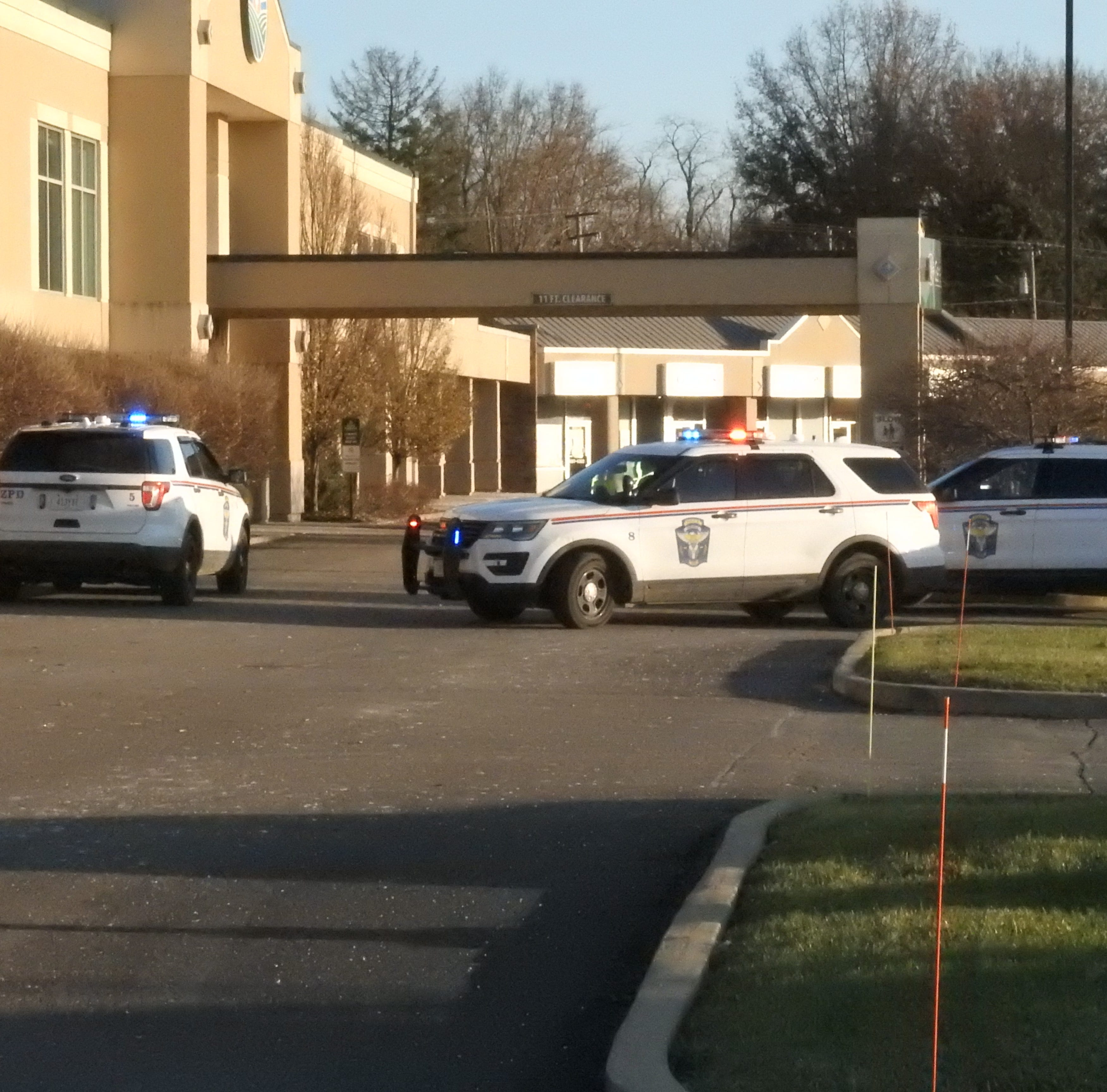 Authorities search for man who entered healthplex with gun