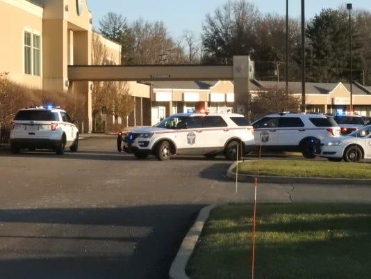Authorities surround Genesis Healthplex