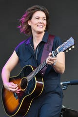 Brandi Carlile performed at the State Theatre of Ithaca in May.