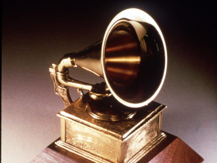DATE TAKEN: na--- File Photo -- The Grammy Award statue ORG XMIT: UT61632
